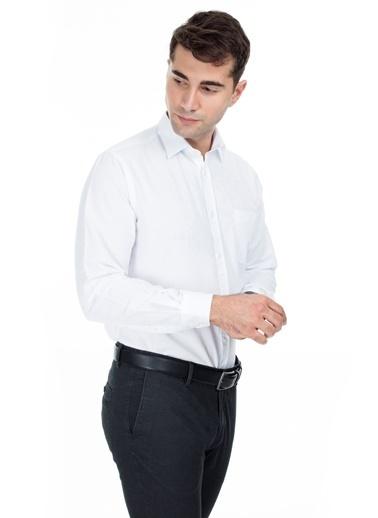 Abbate Gömlek Beyaz